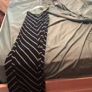 Long short sleeve summer dress